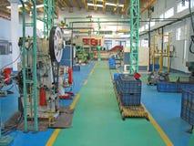 工厂楼层计划的印度现代 图库摄影