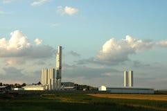 工厂气体 免版税库存照片
