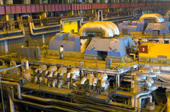 工厂涡轮 库存图片