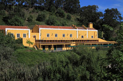 工厂火药有历史的oeiras森林 库存照片