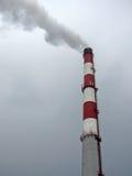 工厂烟囱 库存照片
