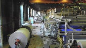 工厂生产车间设备项和产品 影视素材