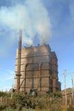 从工厂的大气污染在埃塞俄比亚 库存图片