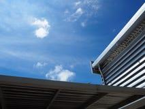 工厂的屋顶 图库摄影