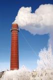 工厂管道 免版税库存图片