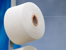 工厂纺织品 库存图片