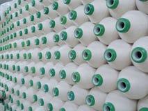 工厂纺织品 免版税图库摄影