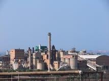 工厂行业站点 免版税库存照片