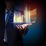 工程学自动化大厦设计 免版税图库摄影