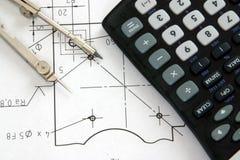 工程工具 免版税库存照片