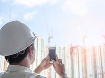 工程师人成功 免版税图库摄影