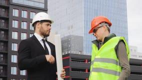 工程师和建造者成交项目手震动金钱成功 股票录像