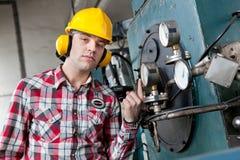 工程师年轻人 免版税库存图片