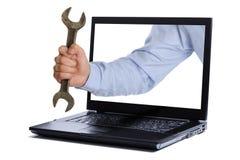 工程师技术支持 免版税库存图片