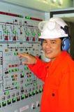 工程师菲律宾发运 免版税库存照片