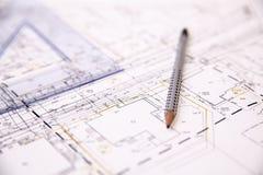 工程项目 免版税库存照片