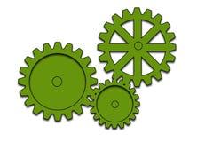 工程齿轮 免版税库存照片