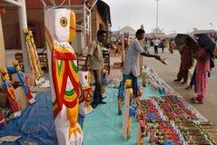 工艺品印度 库存照片