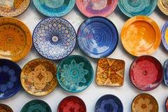 工艺品摩洛哥人 免版税库存图片