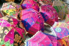 工艺品斋浦尔拉贾斯坦印度 图库摄影