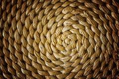 工艺品织法纹理柳条背景的样式自然  免版税库存图片