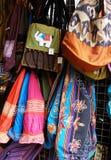 工艺品,泰国夜义卖市场 免版税库存图片