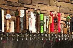 工艺啤酒 库存照片