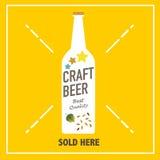 工艺啤酒 免版税库存照片