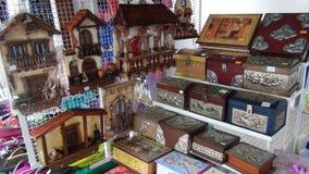 工艺在圣克鲁斯 玻利维亚,南美 免版税图库摄影