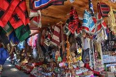 工艺市场在Chillan,智利 库存图片