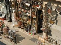工艺店在伊斯坦布尔,土耳其 免版税库存图片