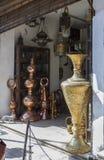 工艺店在开罗,埃及 免版税库存图片
