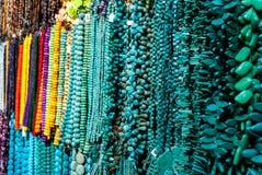 工艺的五颜六色的宝石 免版税库存图片