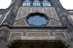 工艺美术博物馆在布达佩斯 库存图片