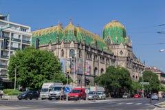 工艺美术布达佩斯匈牙利博物馆  免版税库存照片