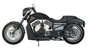 左摩托车端 免版税库存照片
