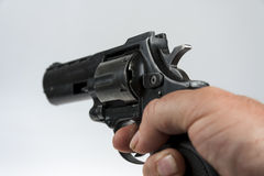左轮手枪 免版税库存照片
