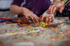 巧克力乐趣 库存图片