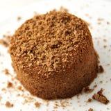 巧克力做的方旦糖家 图库摄影