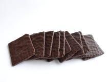 巧克力变薄 库存照片