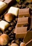 巧克力咖啡 免版税库存照片