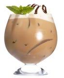 巧克力咖啡frappe 库存照片