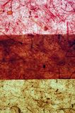 巧克力土质桃红色三重奏黄色 图库摄影