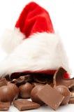 巧克力圣诞节 免版税库存图片