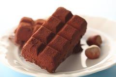 巧克力块 库存图片