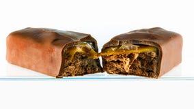 巧克力块 免版税库存照片