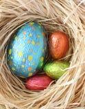 巧克力复活节 免版税库存照片