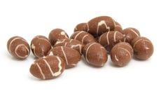 巧克力复活节彩蛋堆 库存照片