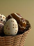 巧克力复活节彩蛋 库存例证