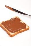 巧克力多士 免版税库存图片